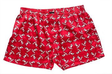red men's underwear
