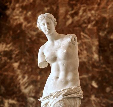 Aphrodite of Milos also known as Venus de Milo, a famous ancient Greek statue