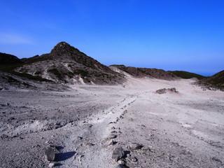 天上山 裏砂漠(神津島)