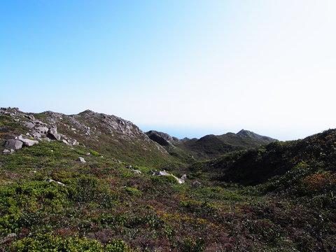天上山山頂(神津島)