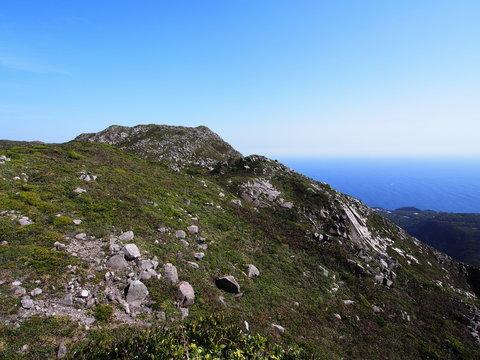 天上山 オロシャの石塁(神津島)