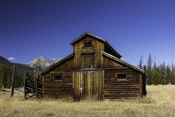 Old Barn in Rocky Mountain National Park