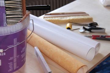 Tapezieren wie die Malermeister