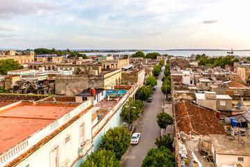 Wall Mural - Cienfuegos von oben