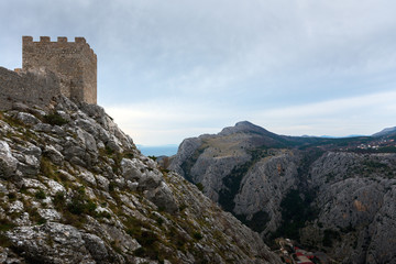 Ancient castle of Omis