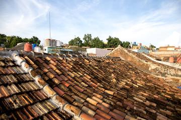 Wall Mural - Dächer von Trinidad