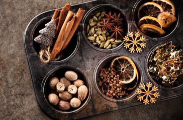 In de dag Kruiden Christmas spices for baking Stollen and cookies