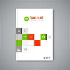 Business abstract brochure / book / flyer design template