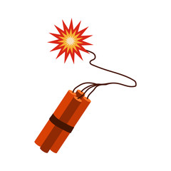 dynamite flat icon