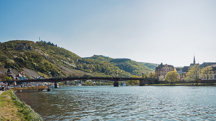 Bridge over the Moselle