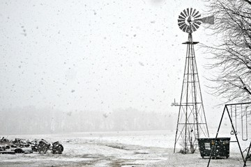 The Windmill in the Snow Storm