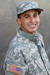 American military serviceman - Stock image