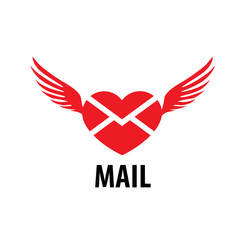 vector logo mail