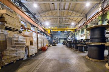 Warehouse industrial enterprise.