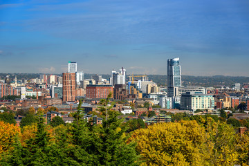 Leeds skyline,Yorkshire England UK