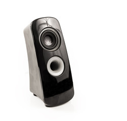 Modern Black and Grey Speaker, on white background