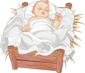 Baby Jesus Asleep