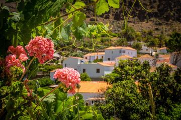 Fataga village in Gran Canaria