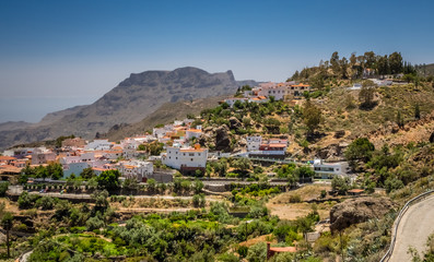 Fataga village in Gran Canaria