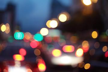 Colorful Street Lights