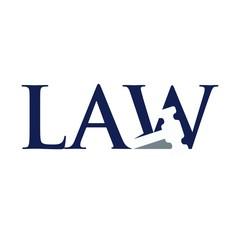 law gavel logo vector