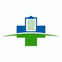 Medical clipboard icon