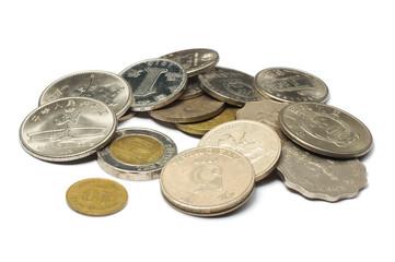 China and Hong Kong Coins