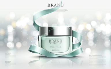 Graceful cosmetic ads