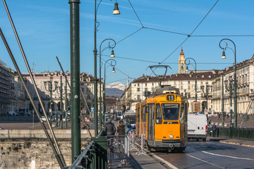 Vittorio Square in Turin, Italy
