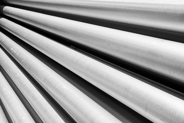 aluminum metal raw material in the form of long tubes