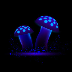 gallery laptop neon mushrooms - photo #12