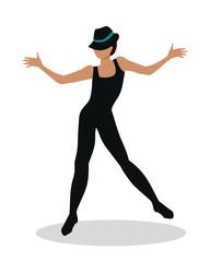 Jazz Dancer Tap Dance, Jitterbug, Swing, Lindy Hop