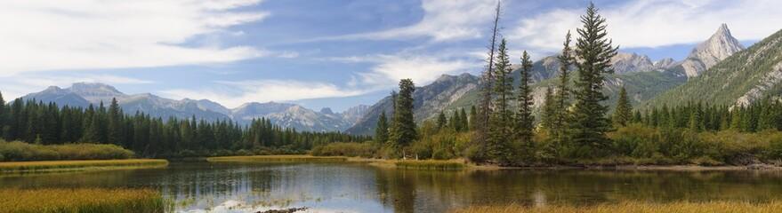 Bow Riwer naar Banff in Canada