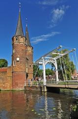Delft, Olanda - Paesi Bassi, Delftse Vliet e Oostpoort