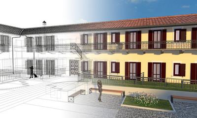 Case, appartamenti, residence, vendita, progetto, architettura, ingegneria