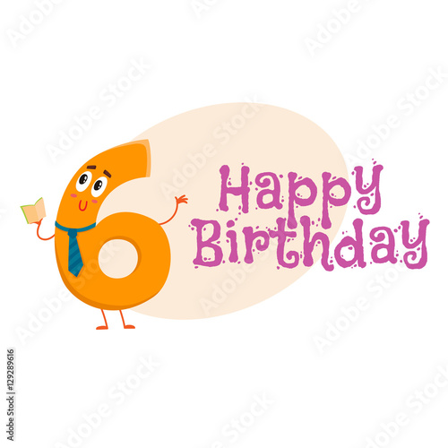 """Happy Birthday Vector Greeting Card, Poster, Banner"