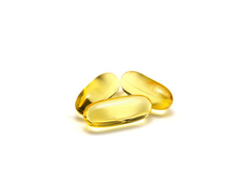 Isolated fish oil capsules