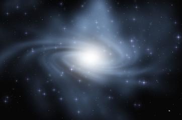 spiral galaxy dark spatial background