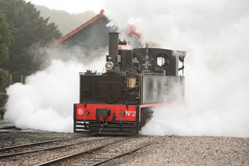 steam train from the Bay of somme