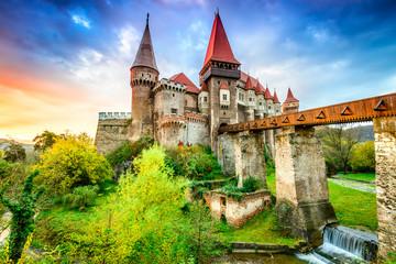 Corvin Castle - Hunedoara, Transylvania, Romania Wall mural