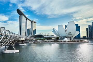 Papiers peints Singapoure Marina Bay Sands
