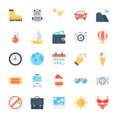 Travel Vector Icons 2
