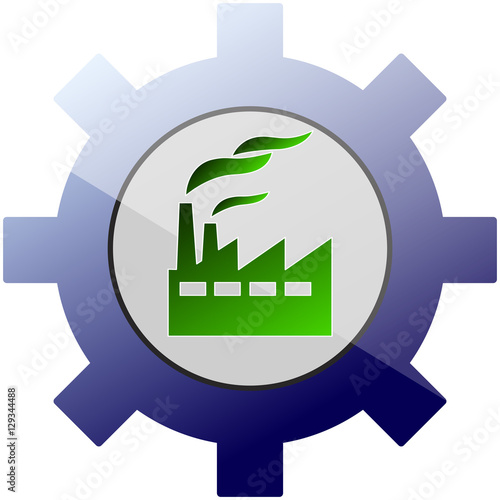 """""""Green Industry icon"""" Imágenes de archivo y vectores ..."""