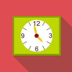Watch icon. Flat illustration of watch vector icon for web