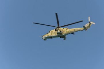 Poster Helicopter mi-24
