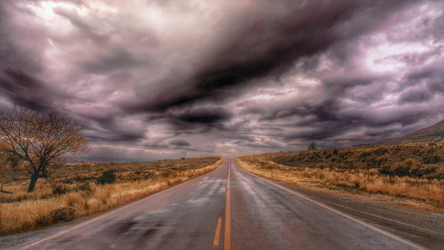 Stormy Highway