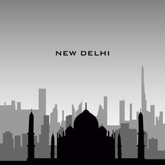 New Delhi cityscape