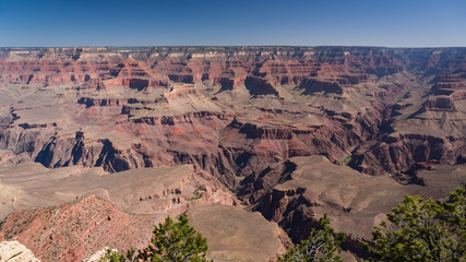 Summer midday in the Grand Canyon, Arizona, USA