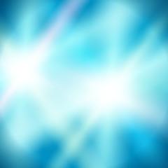 background blue blur glow 2 star