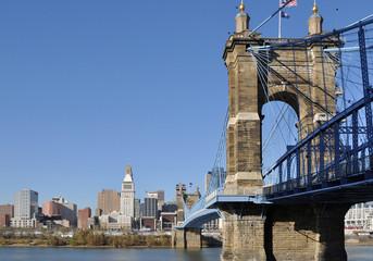 Skyline of Cincinnati Ohio